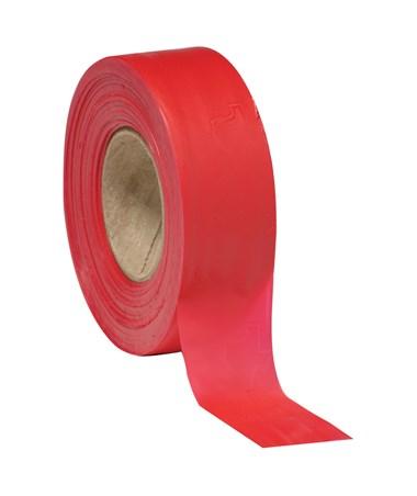 SMI-Carr Red Flagging Tape, 300 Feet SACFTSR