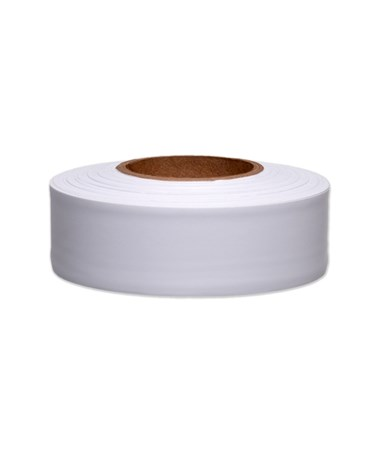 SMI-Carr White Flagging Tape, 300 Feet SACFTSW