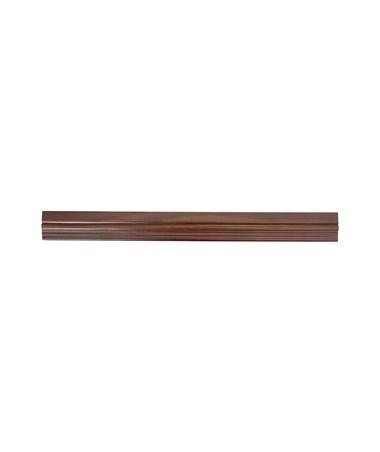 Safco Square-Edge Veneer Bookcase 36-Inch Wide Trim Kit, Walnut SAF1584WL