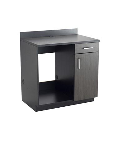 Safco Hospitality Appliance Base Cabinet, Black 1705AN