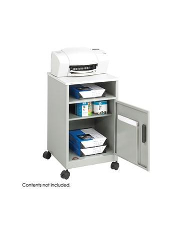 SAFCO1871-Compact Machine Stand Gray SAF1871