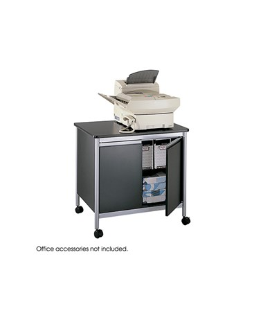 SAFCO1872-Deluxe Machine Stand Black/Silver SAF1872