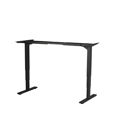 Safco Electric Height-adjustable Table Base Black 1909BL