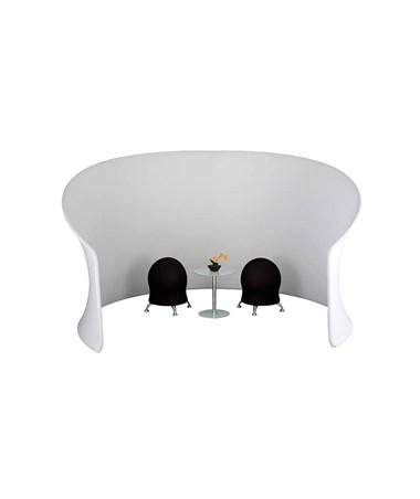Safco Adapt Configurable Privacy Cove Space Divider, Gray