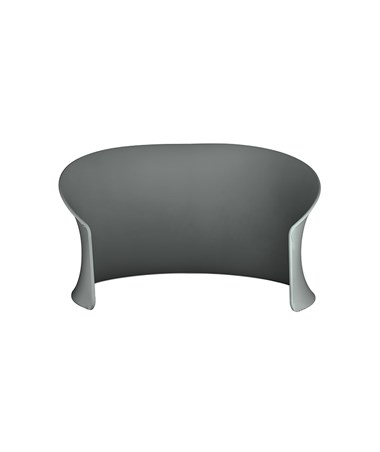 Safco Adapt Configurable Privacy Cove Space Divider, Charcoal