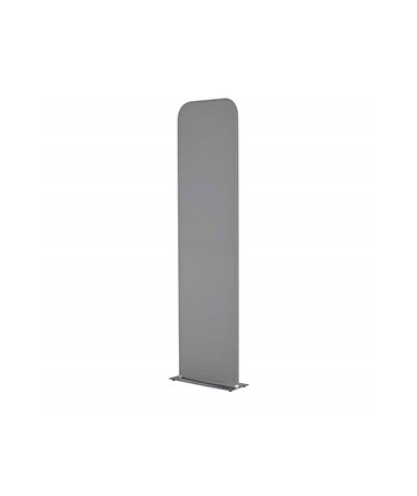 Safco Adapt Configurable Steel Base Space Divider, Charcoal
