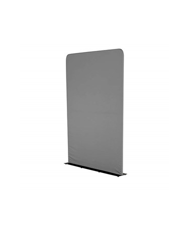 Safco Adapt Configurable 3 ft. Steel Base Space Divider, 1988CH Charcoal