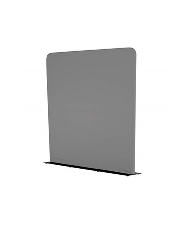 Safco Adapt Configurable 5 ft. Steel Base Space Divider, 1989CH Charcoal