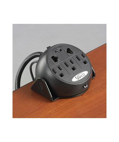 SAFCO2059BL-Power Module Black SAF2059BL