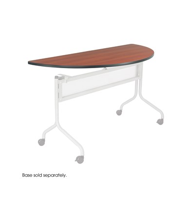 "SAFCO Impromptu® Mobile Training Table Half Round Top 48""W x 24""D"