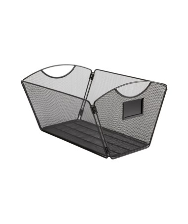 SAFCO2163BL-Onyx™ Mesh Desktop Tub File, Legal Size Black SAF2163BL