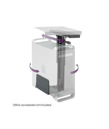 Safco Ergo-Comfort Swivel Mount CPU Holder 2175