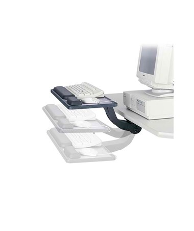Safco Ergo-Comfort Sit/Stand Articulating Keyboard and Mouse Arm SAF2196
