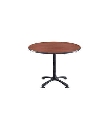 "SAFCO Cha-Cha™ 30"" Round Table, X-Base Sitting Height SAF2470"