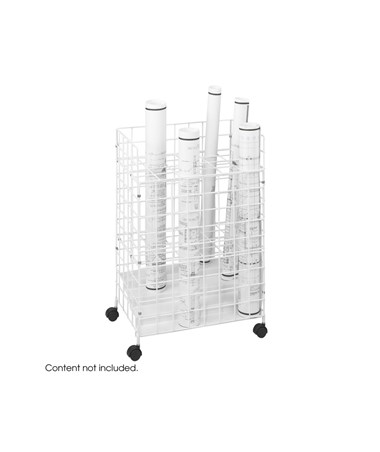 Safco Wire Roll File 24 Compartment 3088