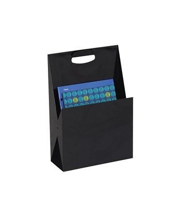 Safco Portable Steel File Tote & Desktop Organizer 3160BL