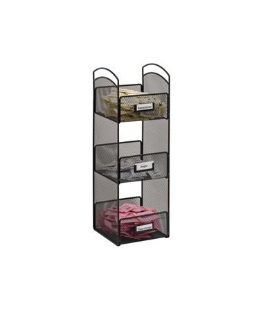 Safco Onyx Tower Break Room Organizer SAF3290BL