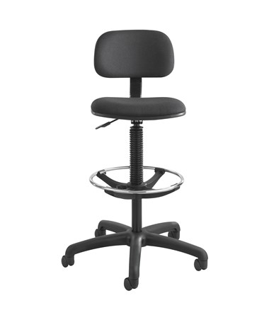 Safco Economy Drafting Chair Black SAF3390BL