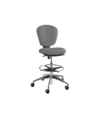 Safco Metro Extended Height Chair, Gray 3442GR