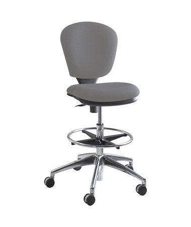 Safco Metro Extended Height Chair, Gray SAF3442GR