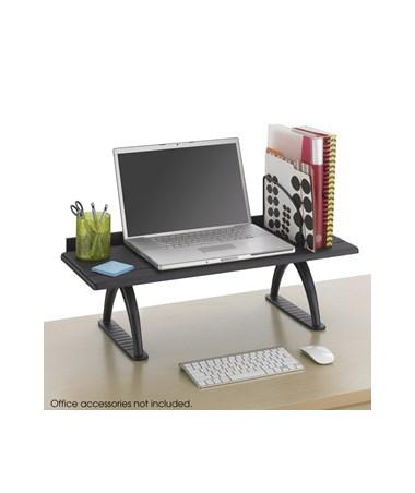 """SAFCO3602BL-30"""" Desk Riser Black SAF3602BL"""