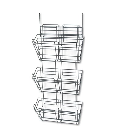 SAFCO415CH-PanelMate® Triple File Basket (Qty.6) Cherry SAF4151CH