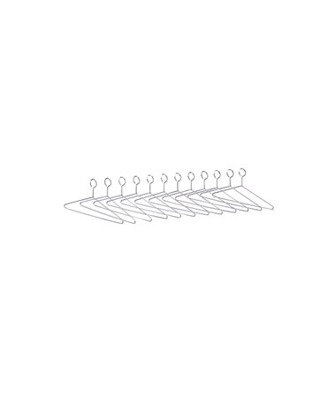 SAFCO4165-Extra Hangers for Shelf Racks SAF4165