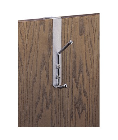 SAFCO4166-Over-The-Door Coat Hook (Qty.12) SAF4166