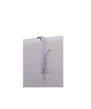 SAFCO4167-Over-The-Panel Coat Hook (Qty.12) SAF4167