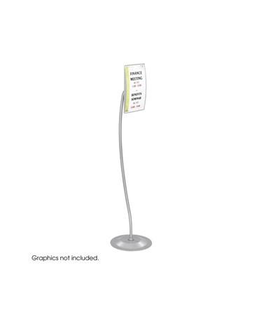 Safco Customizable Rectangular Sign SAF4174GR