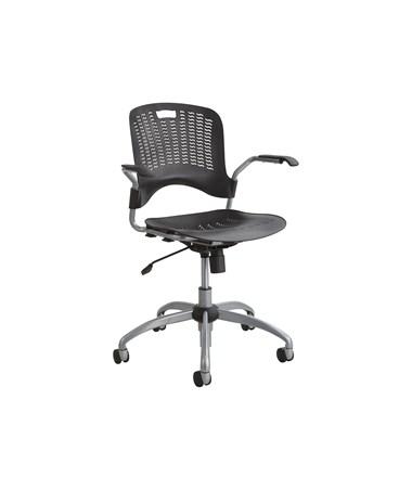 Safco Sassy Pierced Plastic Swivel Office Chair 4182BL