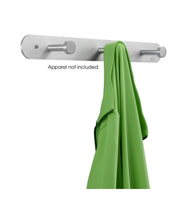 Safco Nail Head Coat Hook, 3-Hook (Qty.12) SAF4201