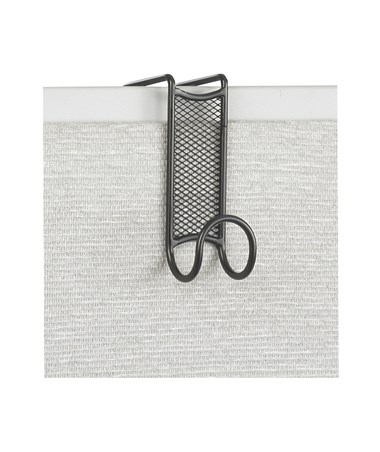SAFCO4229BL-Onyx™ Mesh Coat Hook (Qty 12) Black SAF4229BL