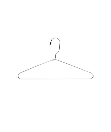 SAFCO4245CR-Metal Heavy-Duty Hangers (6 Cartons of 12 each) Chrome SAF4245CR