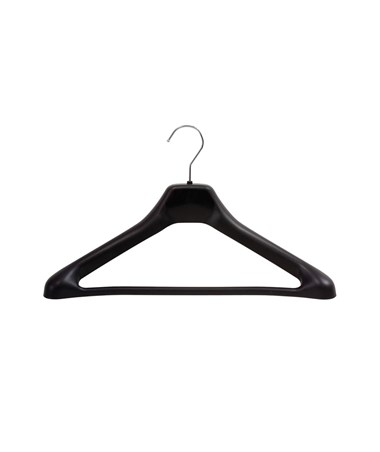 SAFCO4247BL-One Piece Hanger (Qty. 24) Black SAF4247BL