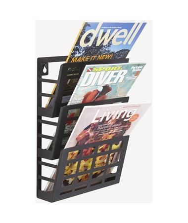 Safco Grid Magazine Rack SAF4660BL-