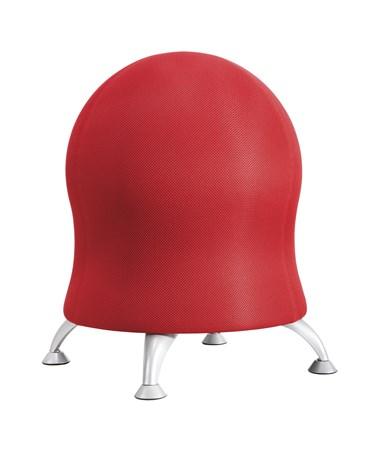Safco Zenergy Ball Chair, Crimson