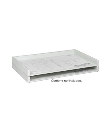 "Safco Giant Stack Tray For 24"" x 36"" Sheets (Qty. 2) SAF4897"
