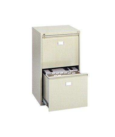 Safco 2 Drawer Vertical Hanging File Cabinet 5039