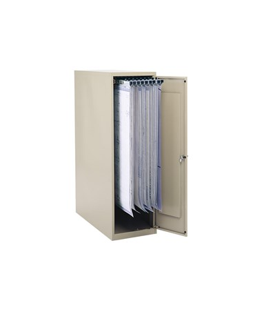 Safco Large Vertical Blueprint Storage Cabinet 5041