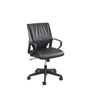 Safco Priya Mid Back Executive Office Chair 5076BL