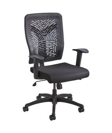 Safco Voice Pierced Plastic Back Office Chair 5085BL