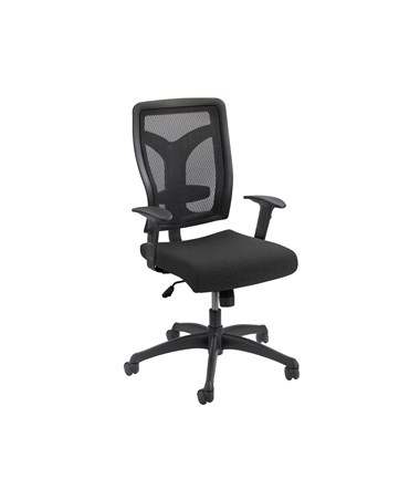 Safco Voice Mesh Back Office Chair 5086BL