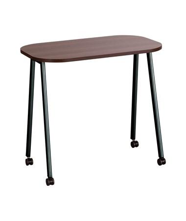Safco Walnut Top Mobile Work Table SAF5091WL