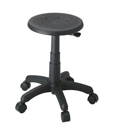 Safco Task Master Black Office Stool SAF5100