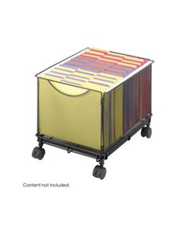 Safco Onyx Mesh Rolling File Cube SAF5211BL