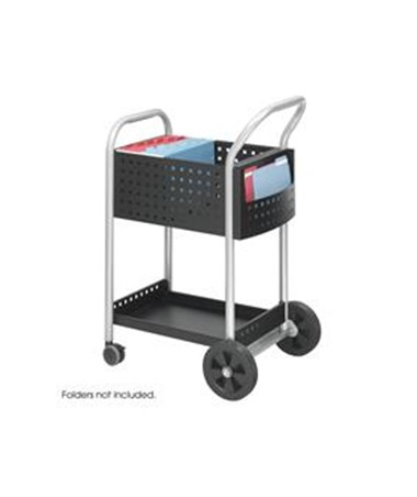 "Safco Scoot™ Mail Cart, 20""W SAF5238BL"
