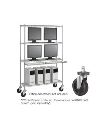 Safco Caster Kit SAF5283