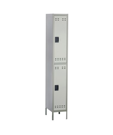 Safco Double Tier Locker, 3 Columns SAF5526GR-