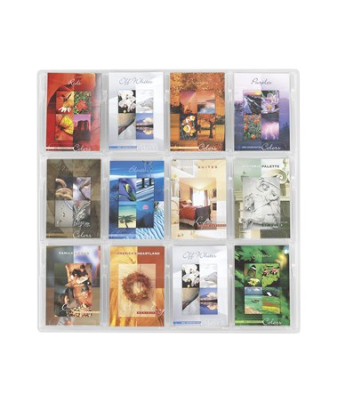 SAFCO5610CL-Reveal™ 12 Booklet Display Clear SAF5610CL